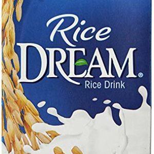 RICE DREAM Classic Vanilla Rice Drink, 32 fl. oz. (Pack of 12)