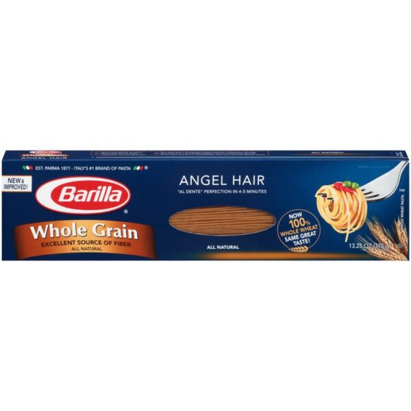 Barilla Angel Hair Whole Grain Pasta, 13.25 oz