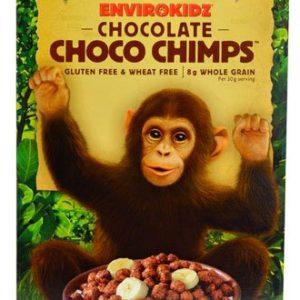 Nature's Path Envirokidz Organic Choco Chimps Cereal Gluten Free Chocolate -- 10 oz - 2 pc