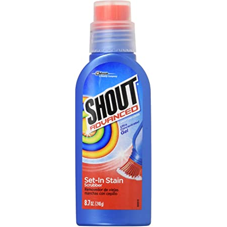 Shout Advanced Ultra Concentrated Stain Removing Gel, 8.7 Oz (Pack of 4)