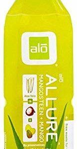 ALO Allure Aloe Vera Juice Drink, Mangosteen + Mango, 16.9 Ounce (Pack of 12)