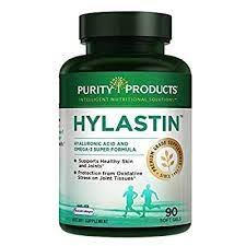 Hylastin - Hyaluronic Acid and Omega-3 Fish Oil super formula - 90 Capsules from Purity Products