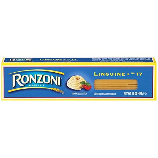 Ronzoni Linguine, 16 oz (Pack of 20)