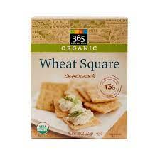 365 Everyday Value, Organic Wheat Square Crackers, 8 oz