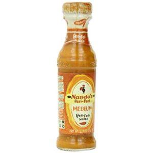 Nando's Hot Peri Peri Sauce, 4.7 Ounce (Pack of 4)