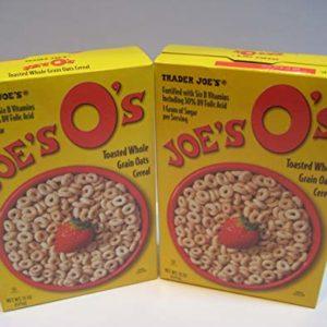 "Trader Joe's Cereal, ""Joe's O's"" Toasted Whole Grain Oats Cereal, 15 Oz Bundle"