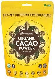 pHresh Superfoods Premium Cacao Powder - Great Taste Unsweetened Healthy Rich Dark Chocolate 453.59g (16oz) - Certified 100% Organic Vegan Keto Gluten Free Non-GMO - Amino Acids Protein Fiber