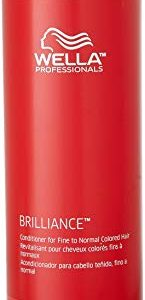 Wella Brilliance Conditioner for Fine To Normal Hair for Unisex, 33.8 Ounce