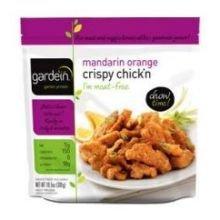 Gardein Mandarin Orange Chicken Crispy, 10.5 Ounce -- 8 per case.