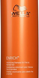 Wella Enrich Volumizing Shampoo for Fine Hair 33.8 Ounce