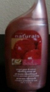 Avon Naturals Shower Gel Glazed Apple and Walnut 1 bottle