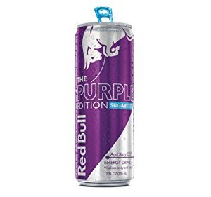 Red Bull The Purple Edition - Acai Berry, Sugarfree, 12fl.oz. (Pack of 16)