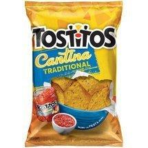 Frito Lay, Tostitos® Cantina Traditional Tortilla Chips, 12oz Bag (Pack of 3)