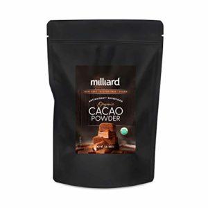 Milliard Raw Organic Cacao Powder / Non-GMO and Gluten Free / 2 lbs.