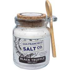 8 oz. Chef's Jar - Italian Black Truffle Sea Salt by San Francisco Salt Company