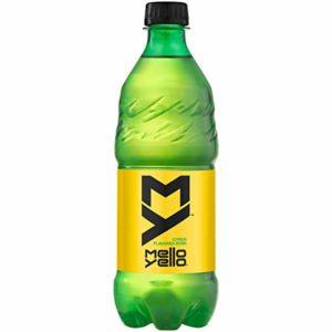 Mello Yello Citrus Flavored Soda Soft Drink, 20 fl oz