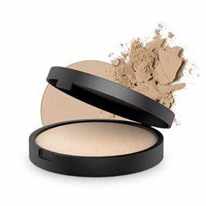 INIKA Mineral Blush Puff Pot, All Natural Loose Powder Make-Up, Flawless Coverage, Long Lasting, Water Resistant, Oil Free, Vegan, Halal, 3g (0.10 oz) (Rosy Glow)