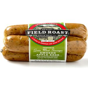 Field Roast Sausage, Smoked Apple Sage, 12.95 Ounce (Pack of 12)