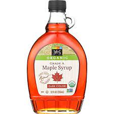 365 Everyday Value, Organic Grade A Maple Syrup, Dark Color, 12 fl oz
