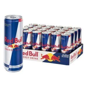 Brand New Red Bull Energy Drink Original Flavor 8.4 Oz Can 24/Carton