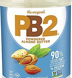 PB2 Powdered Almond Butter, 16oz Low-Fat Vegan Almond Powder, Low Carb Nut Butter, Non-GMO, Gluten Free, Kosher