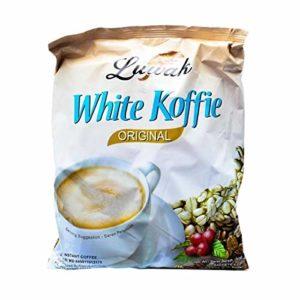 Kopi Luwak White Koffie Original (3 in 1) Instant Coffee 20-ct, 400 Gram (Pack of 2)