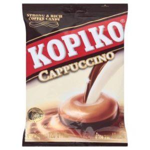 Kopiko Cappuccino Flavor Candy 40 Pcs Bag 120g(4.23 Oz.)
