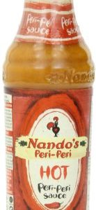 Nando's Hot Peri Peri Sauce, 4.7 Ounce (Pack of 4)