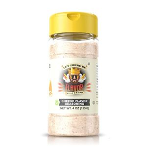 #1 Best-Selling 4oz. Flavor God Seasonings - Gluten Free, Low Sodium, Paleo, Vegan, No MSG (SINGLE SEASONING) (Cheese, 1 Bottle)