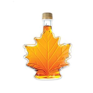 Pure, Organic Canadian Maple Syrup 250ml bottle, All-Natural, Grade-A Light Amber   Delicious Sweetness   No Preservatives, Gluten Free, Vegan Friendly