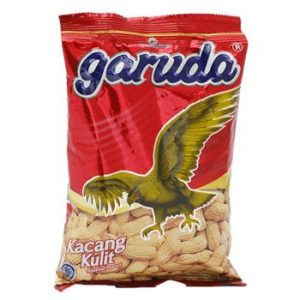 Garuda Kacang Kulit - Roasted Peanuts Original Flavor, 2.64 Oz (Pack of 2)