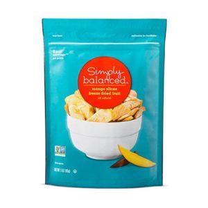 Freeze Dried Mango Slices - 3oz - Simply Balanced