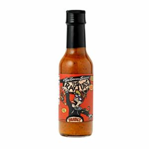 The Rapture Trinidad Scorpion Pepper Hot Sauce, 5 Ounces - All Natural, Vegan, Extract-Free, Made in USA