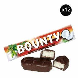 Bounty Coconut & Dark Chocolate Bar 57g x12