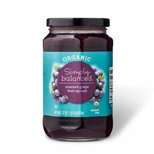 Simply Balanced Concord Grape Fruit Spread, 22 OZ (One Pack)