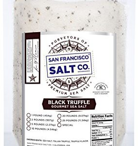 1 lb. Bulk Bag - Authentic Italian Black Truffle Salt by San Francisco Salt Company