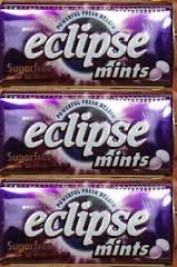 Wrigley's Eclipse Mints Blackcurrant Flavored Sugar Free - 8 Count