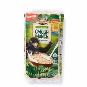 Nature's Path EnviroKidz Gorilla Munch Corn Puff Cereal, Healthy, Organic, Gluten-Free, 23 Ounce Bag (Pack of 3)