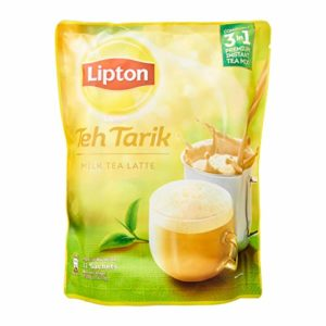 3 Pack Lipton Teh Tarik Milk Tea Latte 3 in 1 Premium Instant Tea Mix - Free Express Delivery