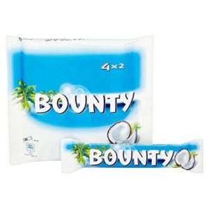 Original Mars Bounty Coconut and Chocolate 4 Pack, Imported from the UK, England Mars Bounty