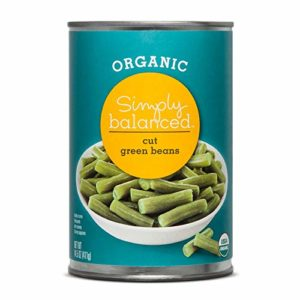 Simply Balanced Organic Cut Green Beans, 14.5 OZ (One Pack)