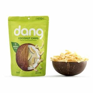 Dang Toasted Coconut Chips, Gluten-Free, Vegan, Non-GMO, Original, 3.17 Ounce (1 Count)