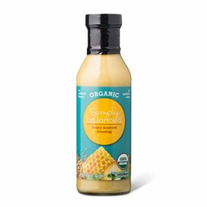 Simply Balanced Organic Honey Mustard Dressing, 12 OZ (One Pack)