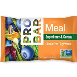 PROBAR - Meal Bar, Superberry & Greens, 3 Oz, 12 Count - Plant-Based Whole Food Ingredients