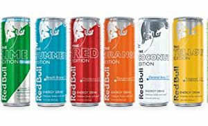New Red Bull Editions Sampler Pack,12fl.oz. (Pack of 10) with New 2019 Summer Beach Breeze