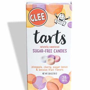 Glee Tarts, Sugar Free Candies, Zero Calorie, Vegan, Gluten Free, Kosher, Box of 28Piece