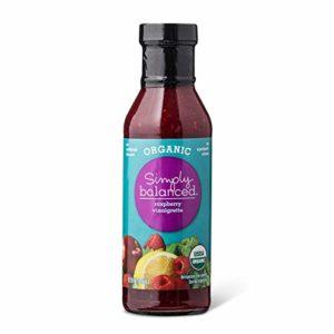 Simply Balanced Organic Raspberry Vinaigrette, 12 OZ (One Pack)