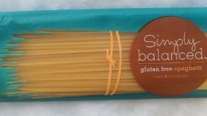 Simply Balanced Gluten Free Spaghetti Made From Corn & Rice Pasta Pack of 4