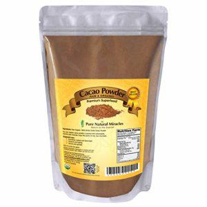 PNM Cacao Powder Organic Raw Unsweetened Cocoa 1lb