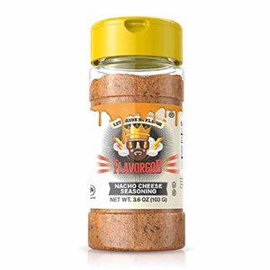 Nacho Cheese - #1 Best-Selling 5oz. Flavor God Seasonings - Gluten Free, Low Sodium, Paleo, Vegan, No MSG